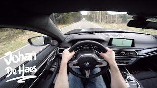 2017 BMW M760Li xDrive 610hp POV Test drive