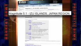 JAPAN Powerful 5.5 EARTHQUAKE - IZU ISLAND... MAY 12, 2012. Prediction