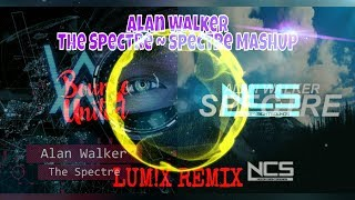 Alan Walker - The Spectre ~ Spectre MASHUP [LUM!X Remix] | By (RazingBolt)