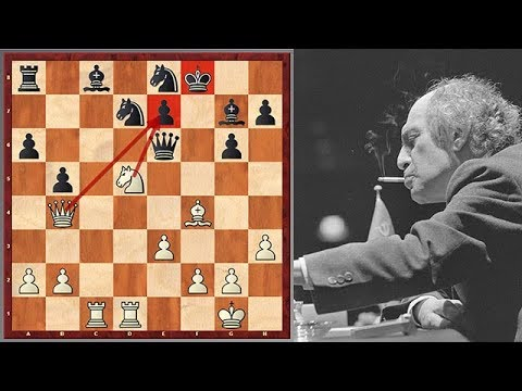 Mikhail Tal Is Unleashing Another Startling Attack