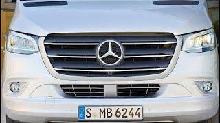 Mercedes Sprinter (2018) The Most High-Tech Van Ever? New Car 2018
