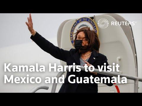Kamala Harris plans visit to Mexico and Guatemala