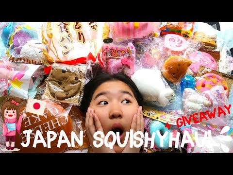 Japan Squishy Haul + GIVEAWAY | Adel Ivanka