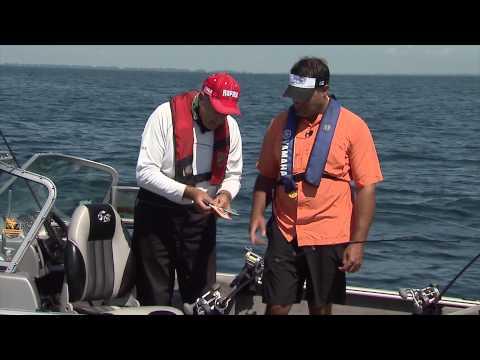 Trolling For Walleye And Steelhead, Lake Erie, Erieau, ON