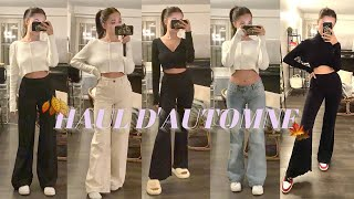 HAUL D'AUTOMNE  + TRY ON (brandy melville, bershka, monki..)
