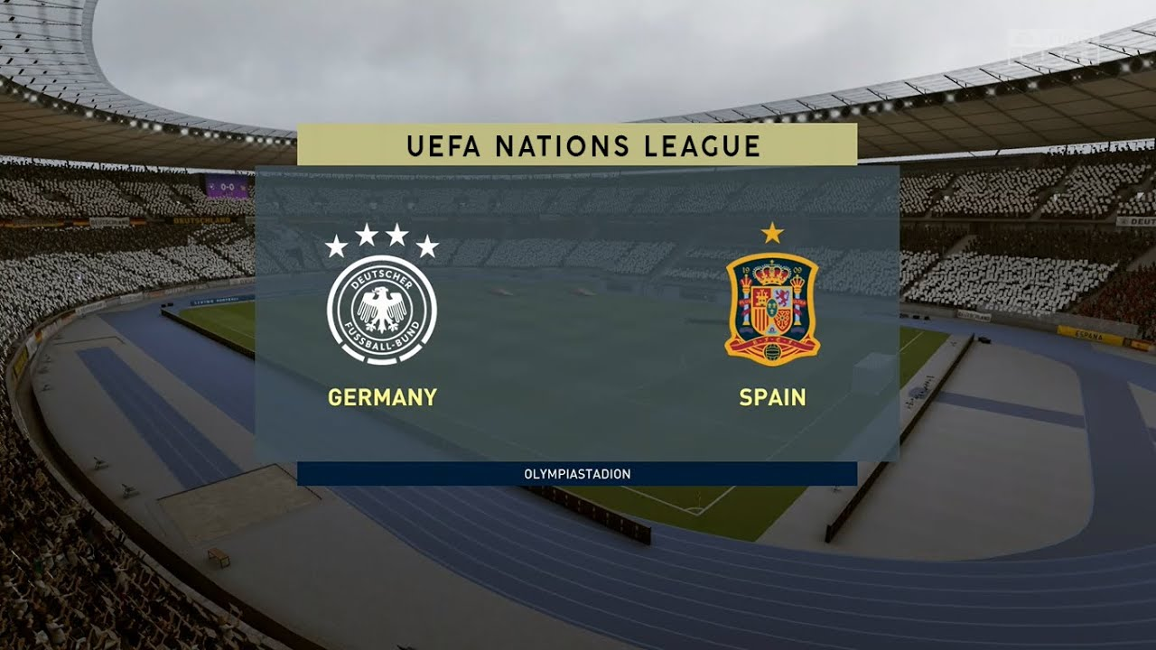 Germany Vs Spain Uefa Nations League 03 09 2020 Fifa 20 Youtube