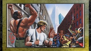 Final Fight Double Impact Vault (Extras and Artworks)