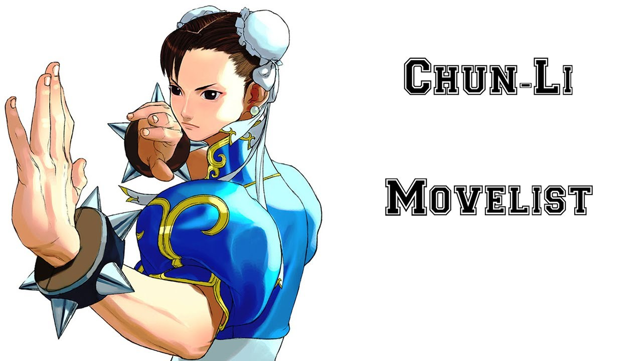 Street Fighter Iii 3rd Strike Chun Li Move List Youtube