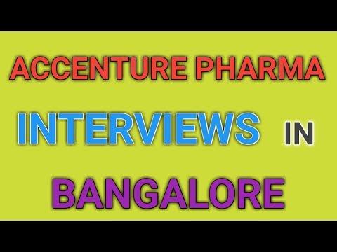 Accenture Pharma Walk in Interviews for Freshers in Bangalore || PHARMA JOBS ||