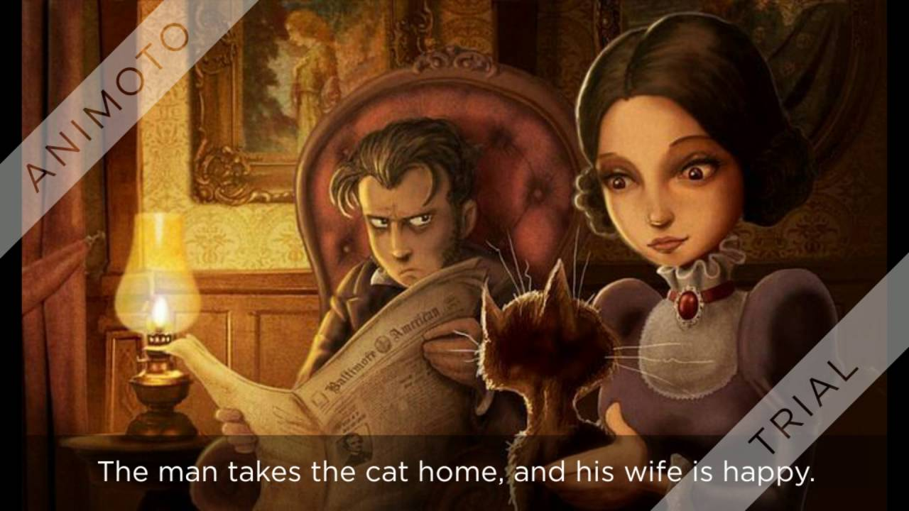 Download Movie of THE BLACK CAT by Edgar Allan Poe