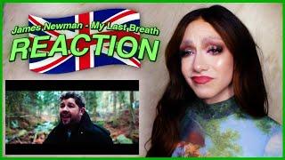 United Kingdom | Eurovision 2020 Reaction | James Newman - My Last Breath
