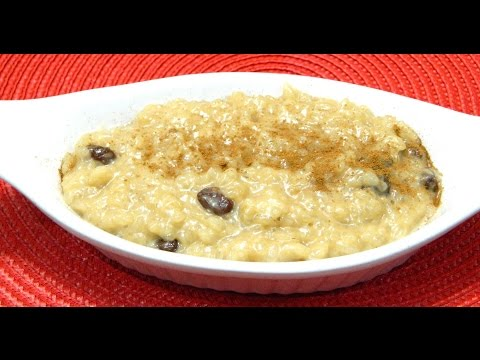 Puerto Rican Arroz con Dulce or Sweet Rice Pudding