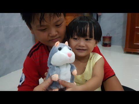 Đồ Chơi Dễ Thương Con Chuột Hamster Biết Nhái Tiếng Người