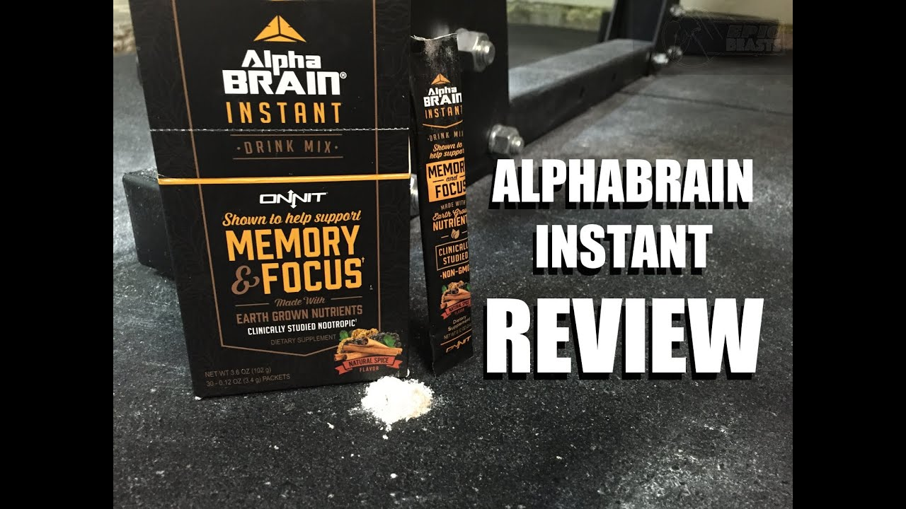 Alpha Brain Instant Review Onnit Labs Newnootropicsnet