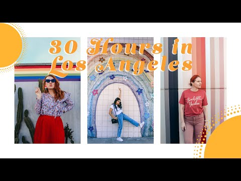 Instagramable Spots in Los Angeles! 30 Hour Trip! | Design by Brianna