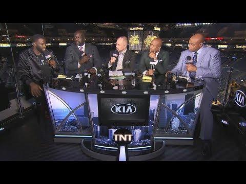 Draymond Joins Inside the NBA