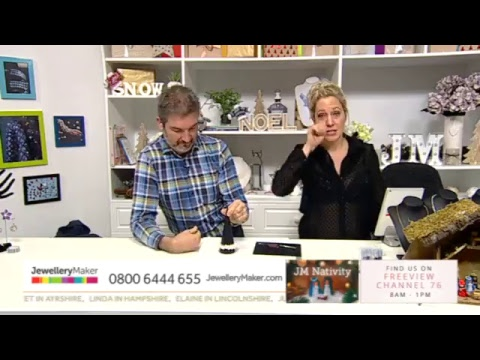 Jewellery Maker Live 1/12/2017 - 8am - 1pm