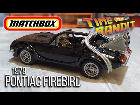 MATCHBOX Resto & Custom : 1979 Pontiac Firebird - 'Time Bandit'
