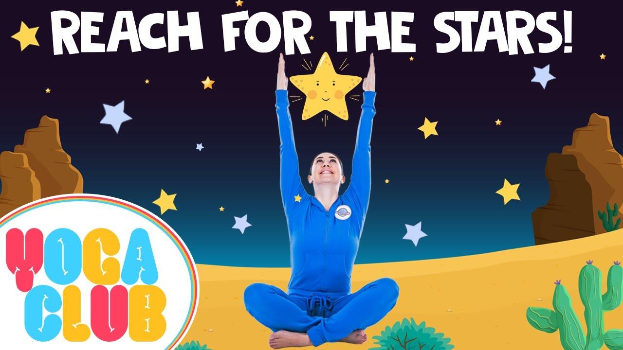 Reach For The Stars: Yoga Club (Week 8) | Cosmic Kids