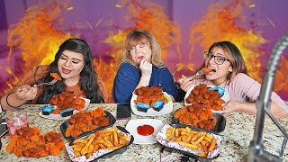 INSANELY HOT SPICY WINGS CHALLENGE!