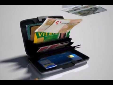 Aluminium Card Case Portecartes Aluminium OGON DESIGNS YouTube - Porte carte ogon