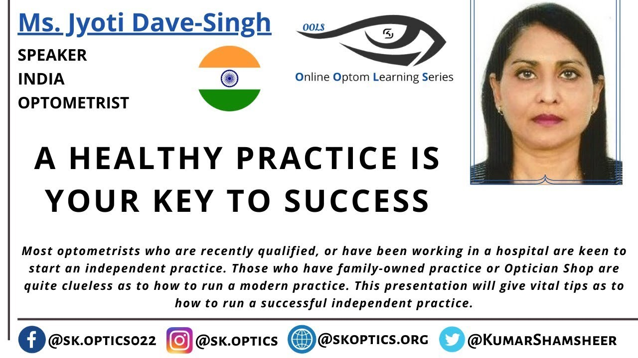 A Healthy Practice is your Key to Success. | OOLS |