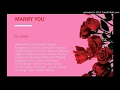 Ric Hassani Marry You mp3