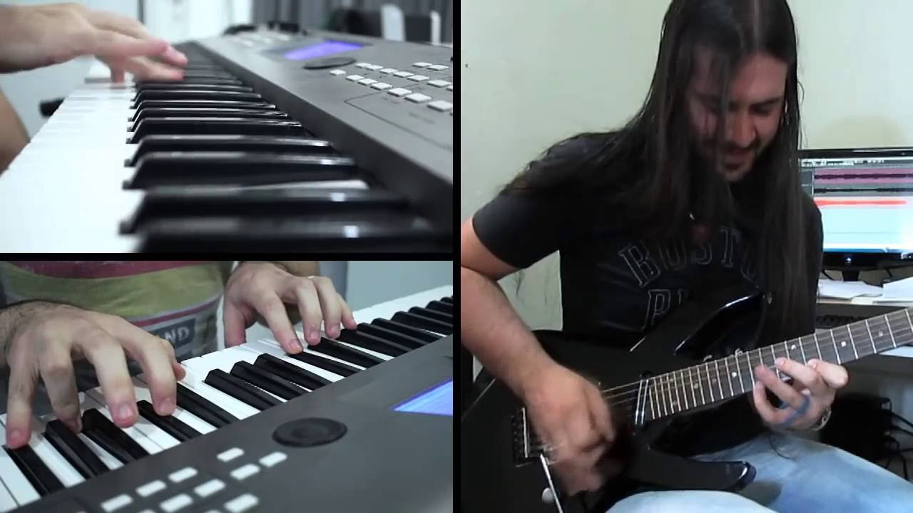 Top Gear Theme (Rock Cover on Guitar and Piano) Feat ...