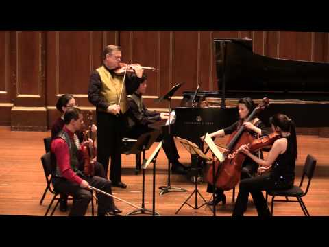 Chausson Concert Op.21. James Buswell, Meng-Chieh Liu and Carpe Diem String Quartet