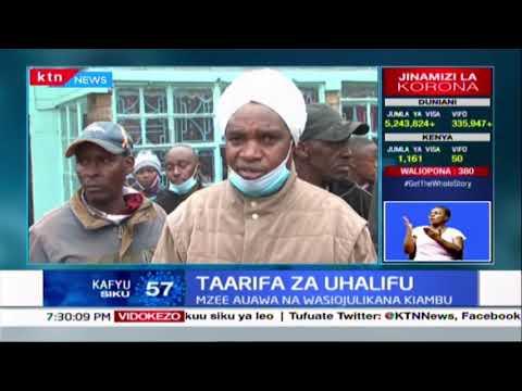 Mseto wa taarifa za uhalifu :Mzee mmoja auawa na watu wasiojulikana Kiambu