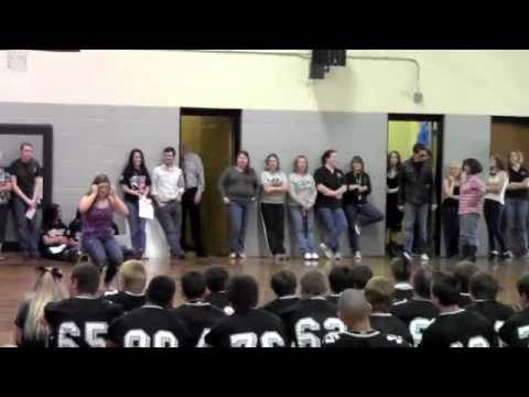 Ledford Senior High School Mock Dance Pep Rally Part 1