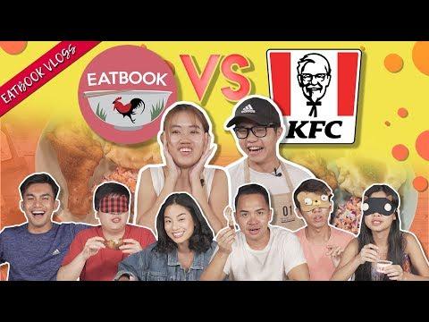EATBOOK VS KFC HOTBLAZE GRILLED CHICKEN  | Eatbook Vlogs | EP 98