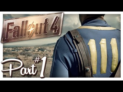 ESCAPING VAULT 111 | Fallout 4 Gameplay Part 1 (PC Let's Play)