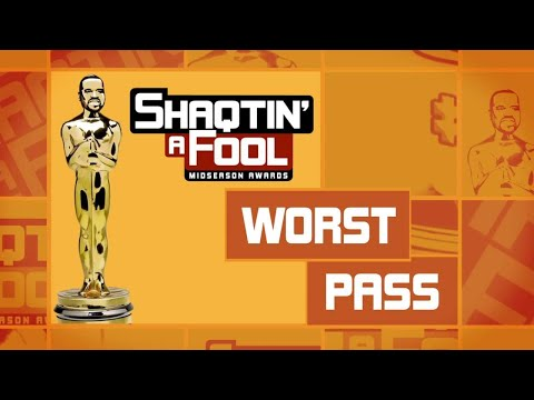 Shaqtin' A Fool Midseason Awards: Worst Pass