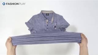 [패션플레이] F710 - 여성 반팔 카라 티셔츠 (봄…