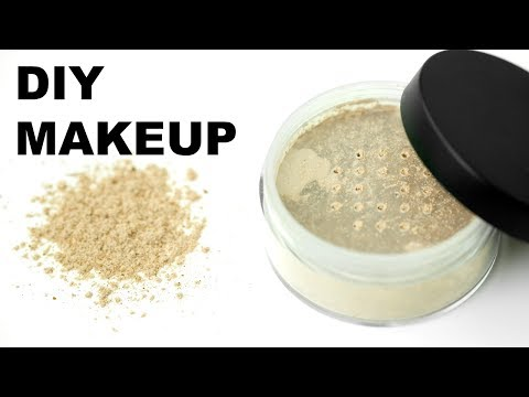 DIY MAKEUP - HOW TO MAKE YOUR OWN ALL NATURAL & ORGANIC FOUNDATION