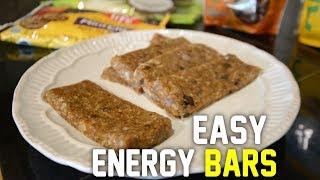 Easy Homemade Energy Bars - Cheap & Healthy