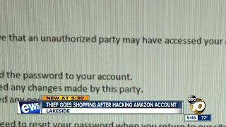 Thief goes shopping after hacking Amazon account