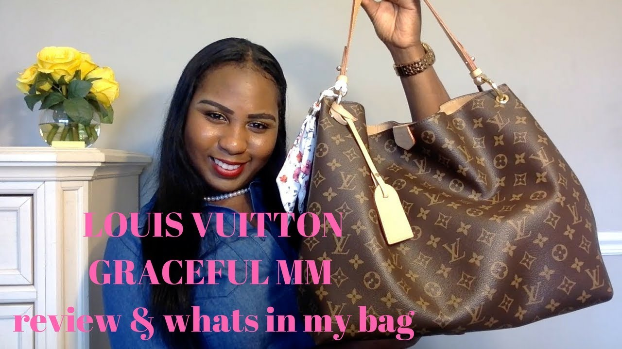 c754bdd9d418 Louis Vuitton Graceful MM   What s In My Pocket Book - YouTube