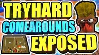 ENDING HIGH WIN STREAK vs TRYHARD COMEAROUND NOOBS • EXPOSED THEM 2x + THEY USED PARK CARDS 8 TIMES