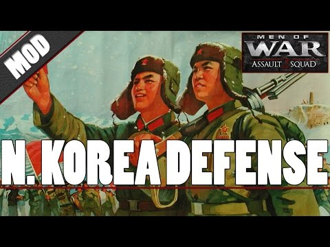 Men of War: Assault Squad 2 - North Korea Defense - Global Escalation MOD