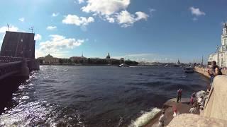 Репетиция Парада ВМФ 23072017 в Санкт-Петербурге