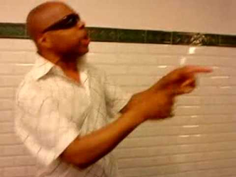 Lewis James Improvisation avec Derek Martin dans le métro