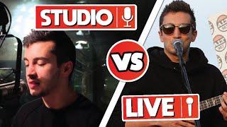 Tyler Joseph's Live vocals VS Studio vocals (Tyler's best vocals)