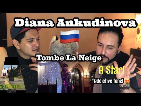 Singer Reacts  Diana Ankudinova- Tombe La Neige