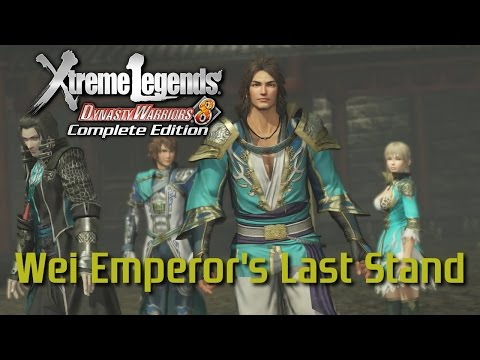 Dynasty Warriors 8 Xtreme Legends | Wei Emperor's Last Stand (Jin Story Mode Ep.12)
