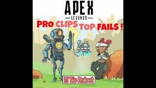 TOP FAILS Y PRO CLIPS #APEX LEGENDS  (#1)