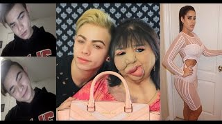 MY MOM DOES MY MAKE UP! BOY TO GIRL TRANSFORMATION