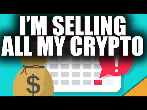 I'm Selling ALL My Crypto Before The End Of October