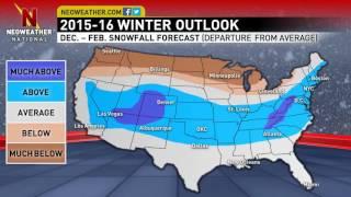 2015-2016 Neoweather.com Winter Forecast